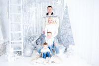 Ирина с семьей